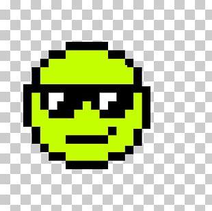 Pixel Art Emoji Drawing PNG