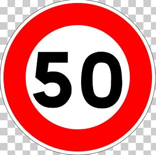 Traffic Sign Speed Limit Road Signs In France PNG