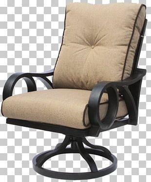 Swivel Chair Rocking Chairs Garden Furniture Cushion PNG