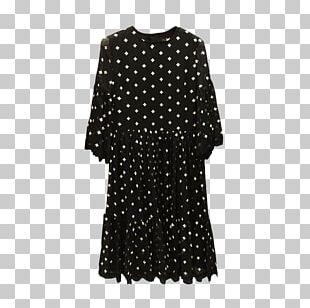 T-shirt Polka Dot Dress Chiffon Pocket PNG