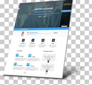 Responsive Web Design HTML Web Page Web Template System PNG