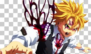 The Seven Deadly Sins Meliodas Anime Music Video PNG