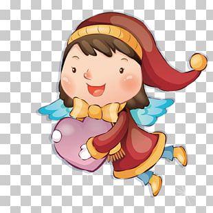 Love Angel Vecteur PNG