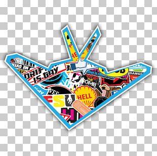 Sticker Plastic Bomb Brand Logo PNG