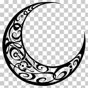 Crescent Moon Logo PNG