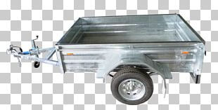 Trailer Skip Truck Bed Part Box Metal PNG