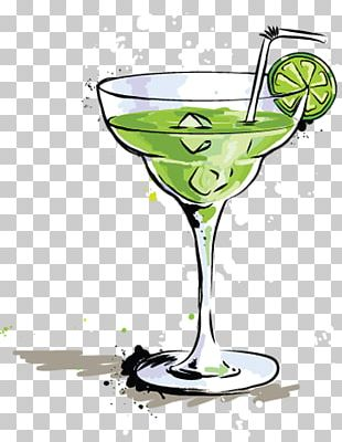 Cocktail Glass Margarita Martini Champagne PNG