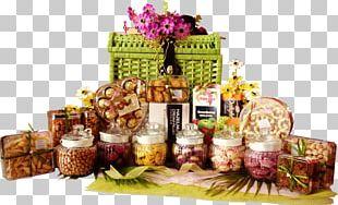 Hamper Food Gift Baskets Pineapple Tart PNG