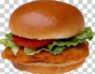 Hamburger Chicken Sandwich Veggie Burger Fast Food Hot Dog PNG
