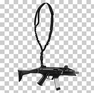 Submachine Gun Firearm Weapon PNG