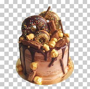 Chocolate Cake Yule Log Christmas Cake Praline PNG
