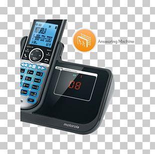 Feature Phone Mobile Phones Motorola P1003 Digital Enhanced Cordless Telecommunications Cordless Telephone PNG
