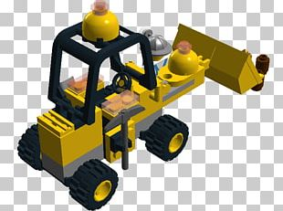 LEGO Heavy Machinery Product Design PNG