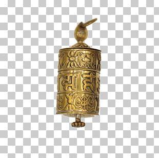 Prayer Wheel Charms & Pendants Standing Bell Jewellery PNG