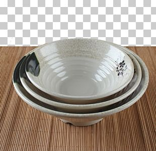 Bowl Ceramic Tableware Blue And White Pottery Porcelain PNG