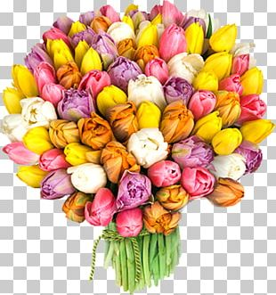 Flower Bouquet International Women's Day March 8 Holiday Woman PNG