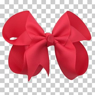 Red Ribbon Hair Color PNG