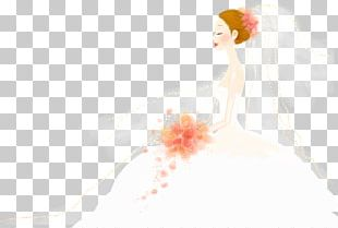 Bride Marriage Drawing PNG
