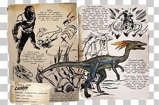ARK: Survival Evolved Compsognathus Allosaurus Tyrannosaurus Dinosaur PNG