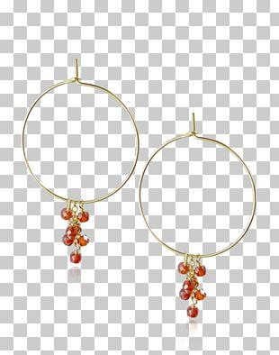 Earring Garnet Jewellery Gemstone Gold-filled Jewelry PNG