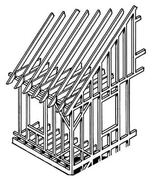 Framing Architectural Engineering A-frame House PNG