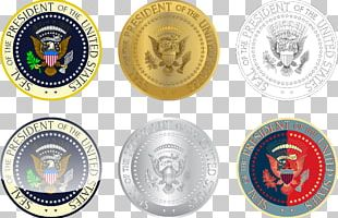 Seal Of The President Of The United States Coin Logo PNG