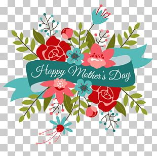 Mothers Day Flower Bouquet Valentines Day PNG