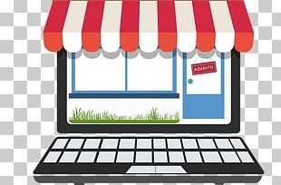 Online Shopping Digital Marketing Retail Business PNG