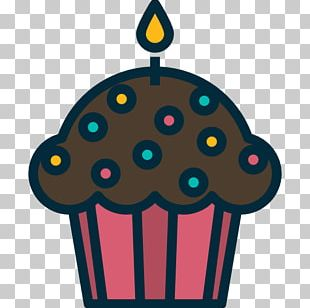 Cupcake Muffin Bakery Food Icon PNG