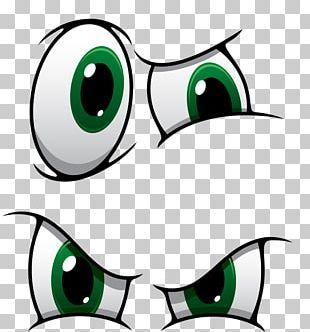 Eye Cartoon Illustration PNG