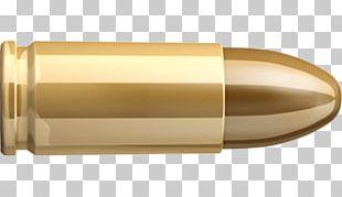 Full Metal Jacket Bullet 9×19mm Parabellum Ammunition Cartridge PNG
