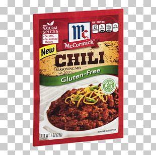 Chili Con Carne Taco Gravy Chili Powder Spice Mix PNG