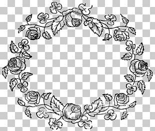 Floral Design Flower Rose Wreath Pattern PNG