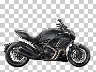 Ducati Diavel Motorcycle Cruiser Sport Bike PNG