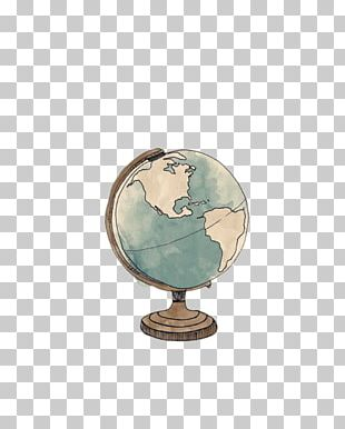 Earth Globe World Map Illustration PNG