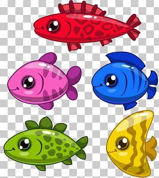 Fish Drawing Cartoon PNG