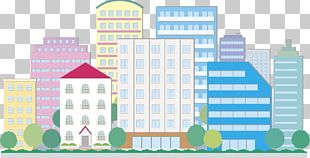 Building Cartoon Painting Illustration PNG