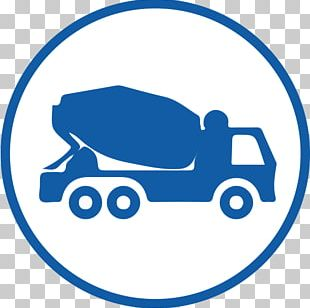 Concrete Cement Mixers Transport Business Courier PNG