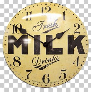Newgate Clocks Milk Dairy Cattle PNG