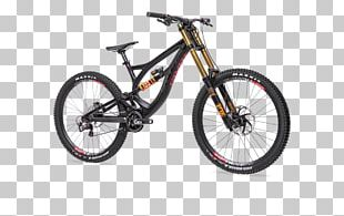 Downhill Mountain Biking Bicycle Frames Downhill Bike Mountain Bike PNG