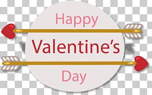 Valentines Day Heart Greeting Card Illustration PNG