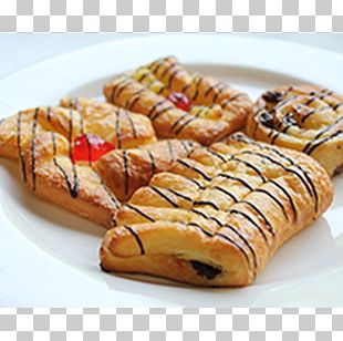 Danish Pastry Pain Au Chocolat Dessert Cherry Pie PNG
