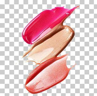 Lipstick Cosmetics Lip Gloss Face Powder Foundation PNG