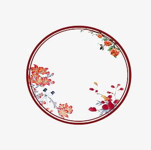Chinese Wind Ancient Circle PNG
