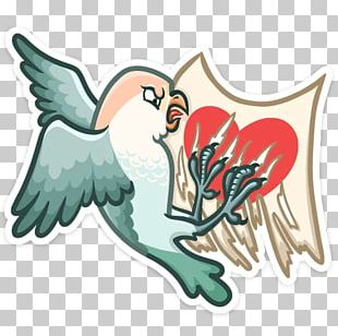 Lovebird Sticker VKontakte Telegram PNG