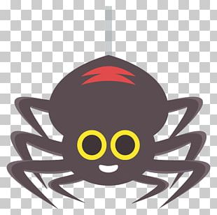 Spider Emoji Text Messaging SMS Meaning PNG