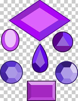 Purple Gemstone Jewellery Amethyst Diamond PNG