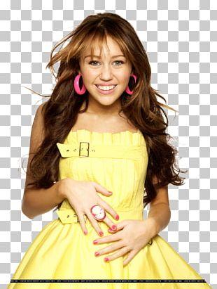 Miley Cyrus Hannah Montana Model Long Hair Hair Coloring PNG