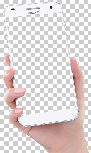 Smartphone Hand Huawei Ascend PNG