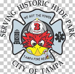 Tampa Fire Rescue Department Fire Station Organization Logo Emergency Medical Services PNG